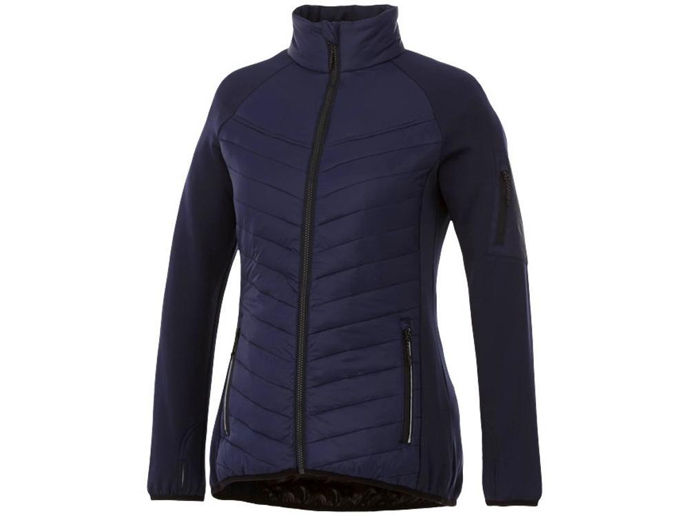 Женская утепленная куртка Banff, темно-синий/черный