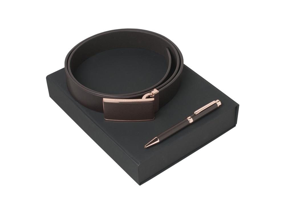 Подарочный набор Seal: ремень, ручка шариковая. Christian Lacroix