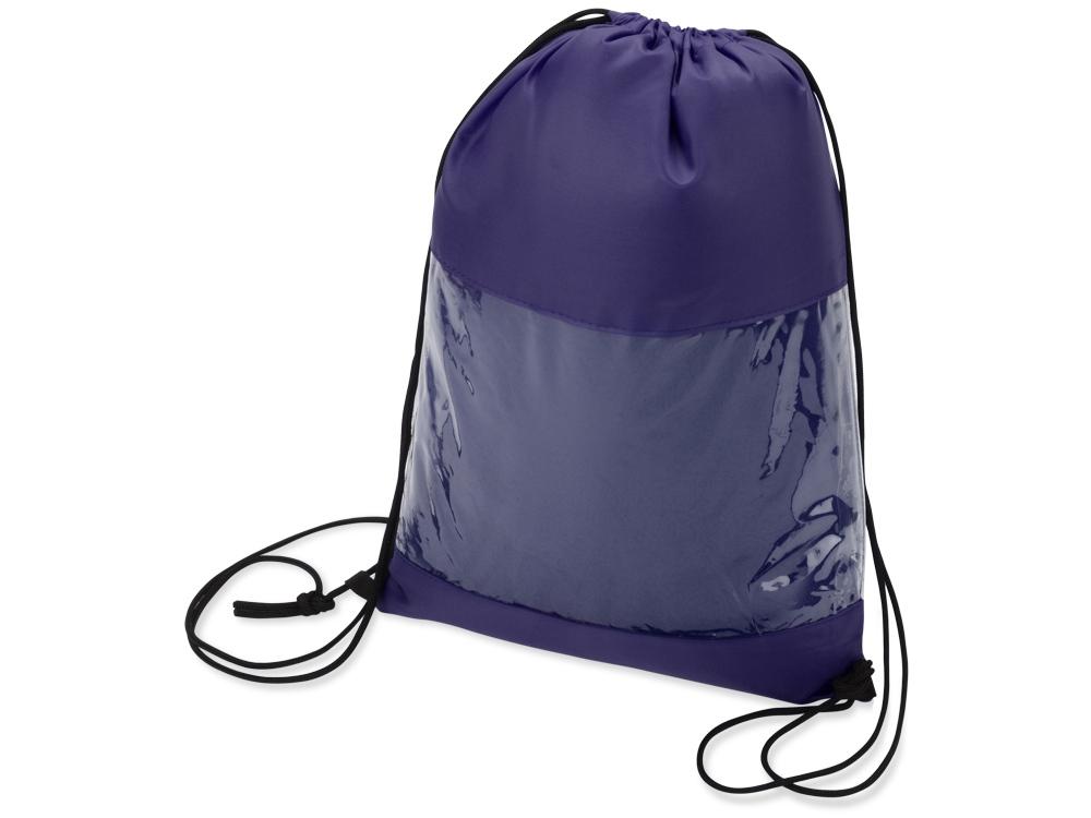 Плед в рюкзаке Кемпинг, синий