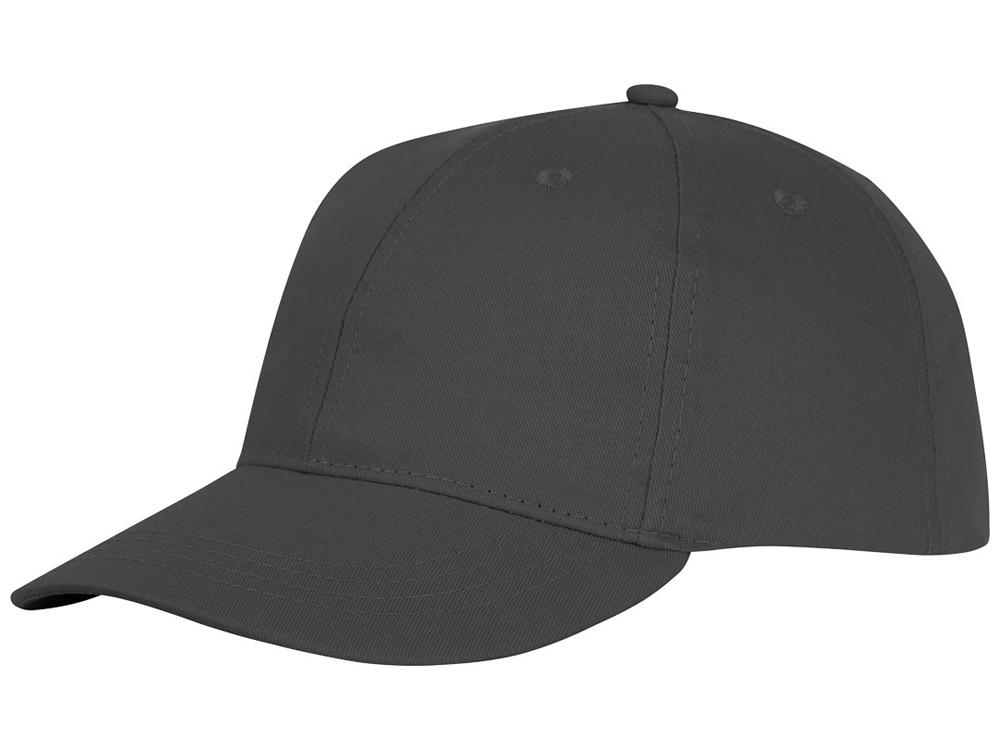 Шестипанельная кепка Ares, серый