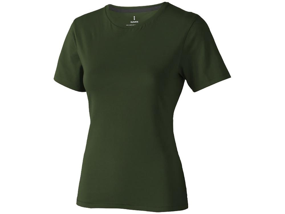 Футболка Nanaimo женская, армейский зеленый