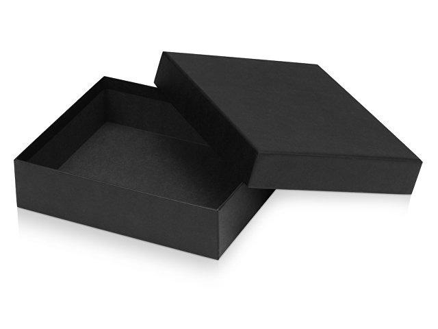 Подарочная коробка с эфалином Obsidian L 235х200х60, черный
