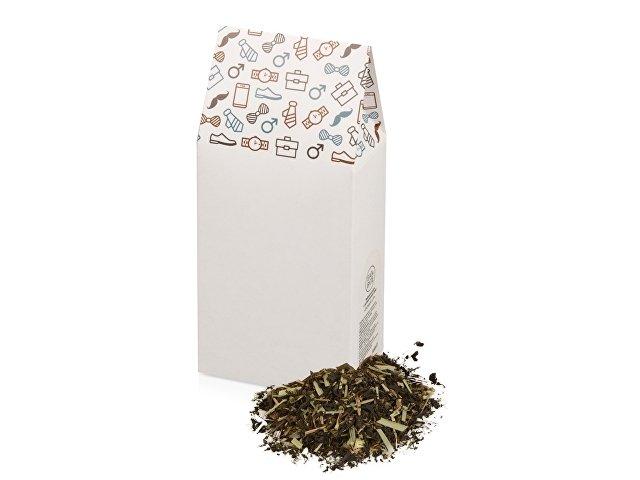 «Power-up» чайный купаж с добавлением трав, 60 г., белый глянцевый