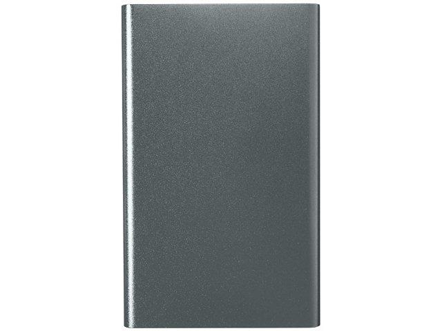 Алюминиевый повербанк Pep емкостью 4000 мА/ч, titanium