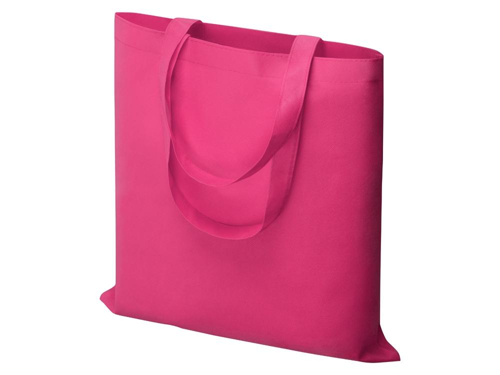 Небольшая нетканая сумка Zeus для конференций, вишневый светлый