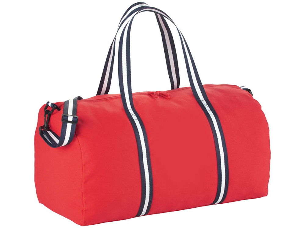 Хлопковая дорожная сумка Weekender, красный