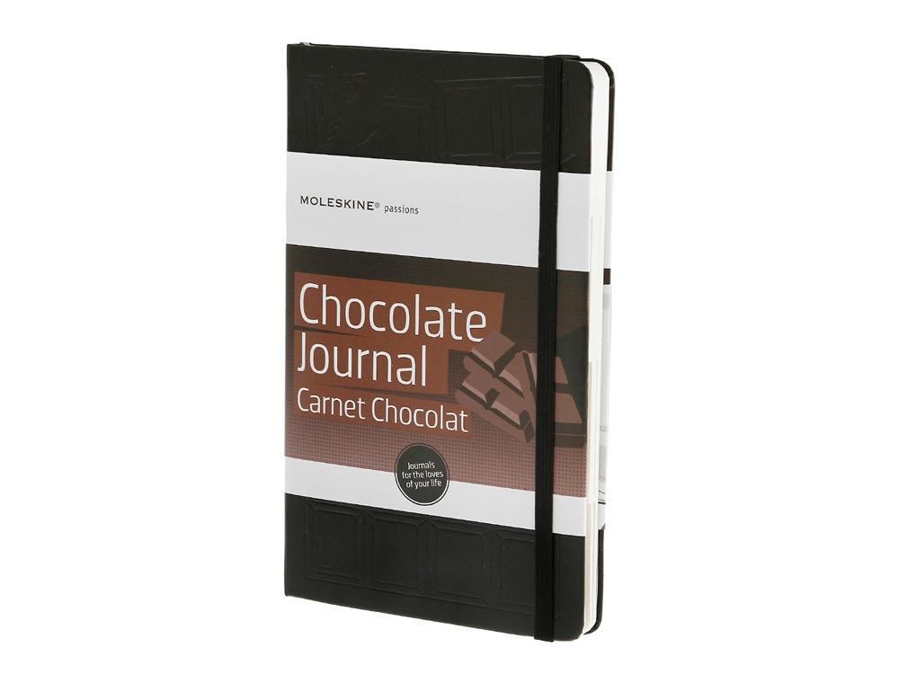 Записная книжка Moleskine Passion Chocolate (Шоколад), Large (13x21см), черный