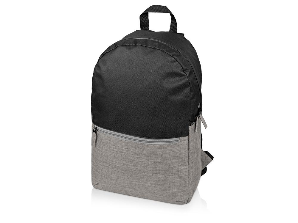 Рюкзак Suburban, черный/серо-бежевый