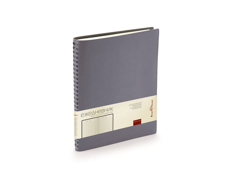 Ежедневник недатированный B5 Tintoretto New, серый