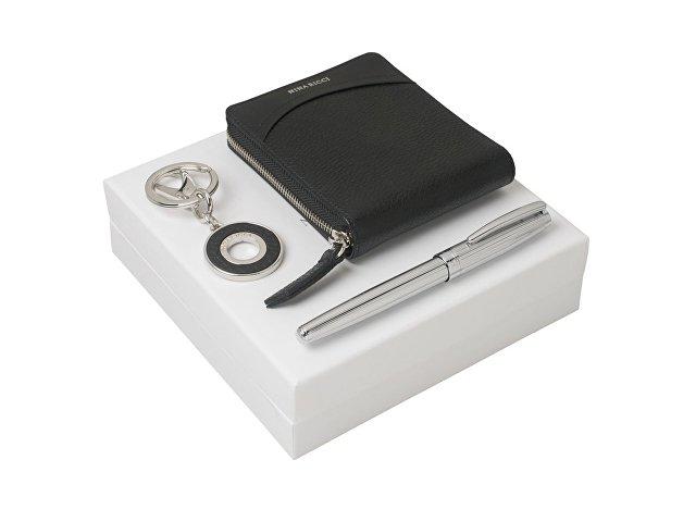 Подарочный набор Embrun: брелок, кошелек, ручка роллер
