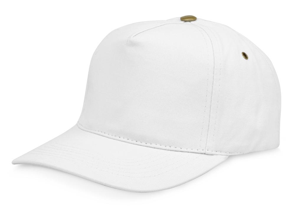 Бейсболка New York  5-ти панельная, белый