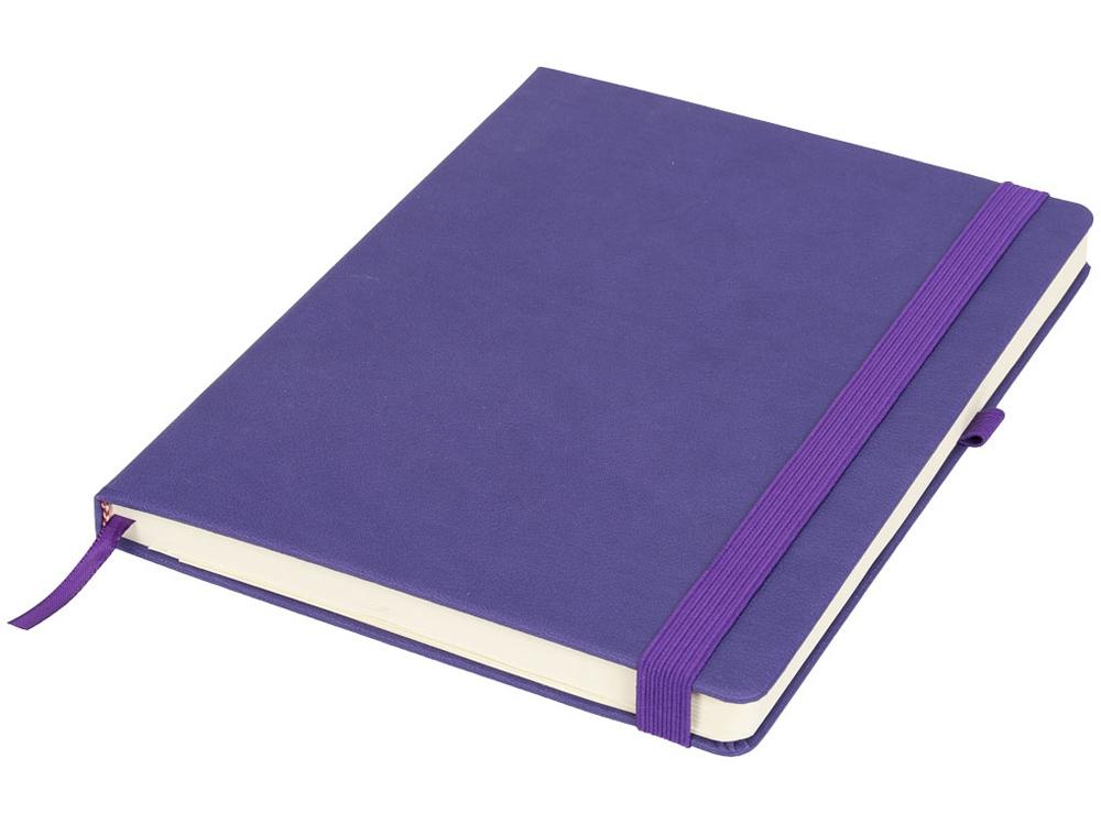 Блокнот Rivista большого размера, пурпурный