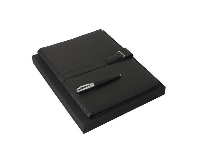 Подарочный набор: папка с бумажным блоком А4, ручка-роллер