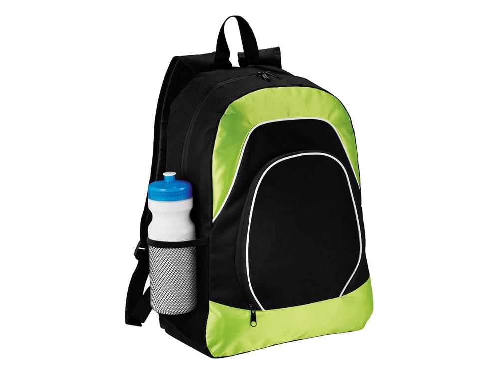 Рюкзак для планшета Branson, черный/лайм