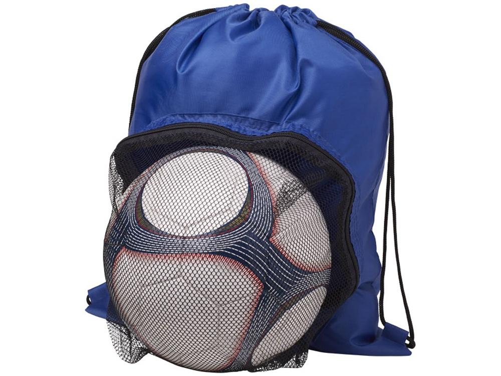 Спортивный рюкзак на шнурке, ярко-синий