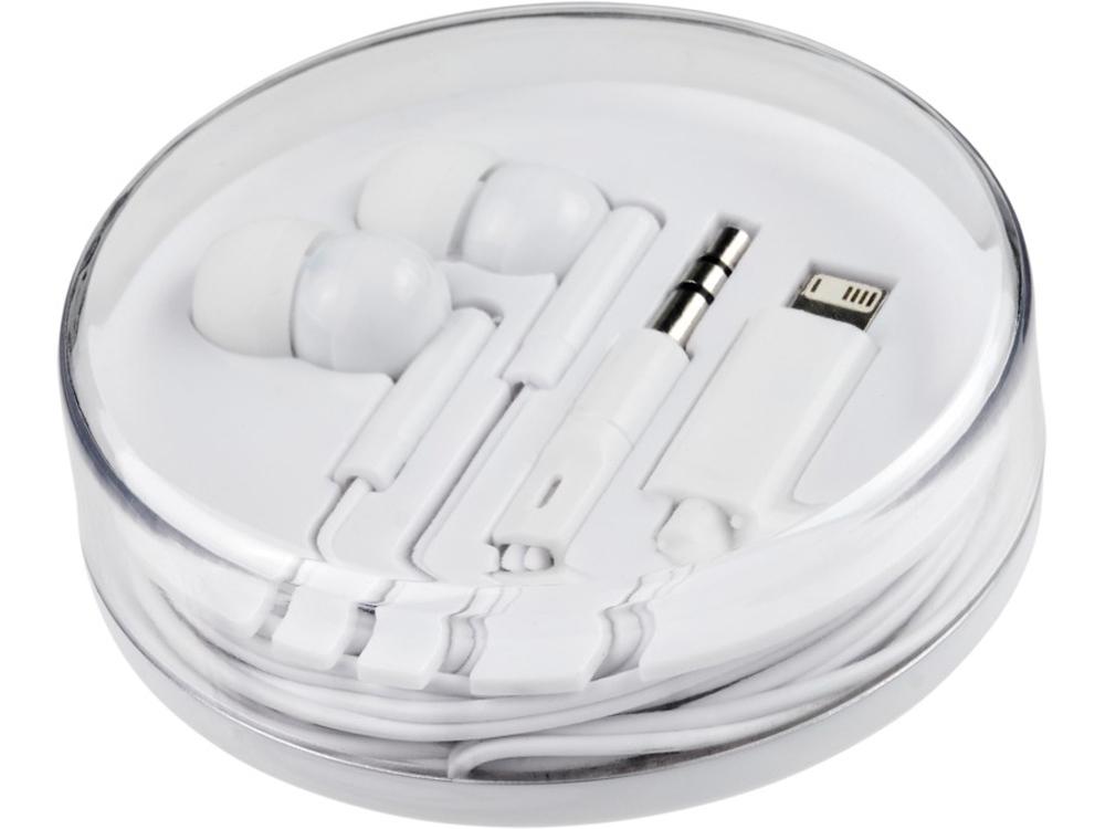 Наушники Switch с несколькими наконечниками, белый