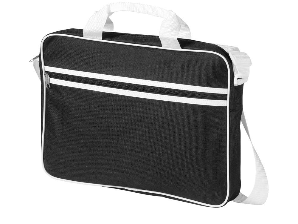 Сумка для ноутбука Knoxville, черный/белый