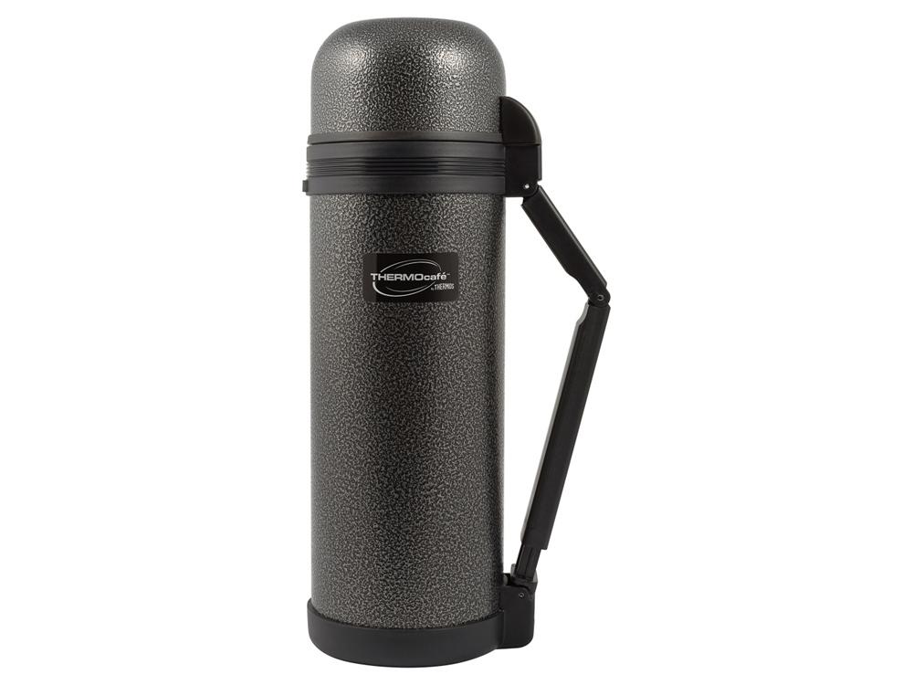 Термос из нерж. стали тм ThermoCafe HAMMP-1800-HT, 1.8L, серый