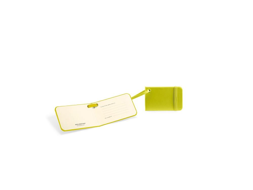 Ярлык для багажа Moleskine Luggage Tag, зеленый