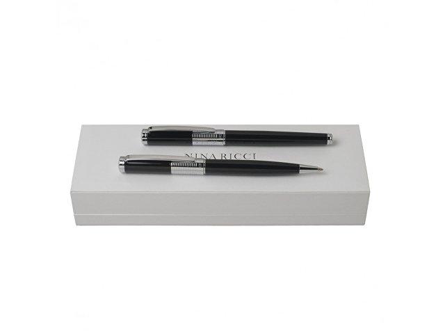 Подарочный набор Eclat: ручка шариковая, ручка роллер (арт. RPBR652B)