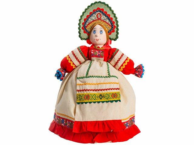 Подарочный набор «Деревенские вечера»: кукла на чайник, чайник з