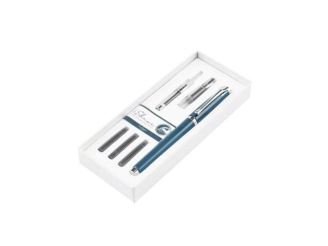 Набор «I-Share»: ручка роллер, сменная насадка с пером, чернила (арт. 417646)
