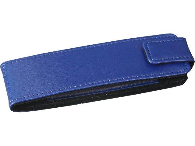 Набор «Эльба»: ручка шариковая, механический карандаш в футляре синий