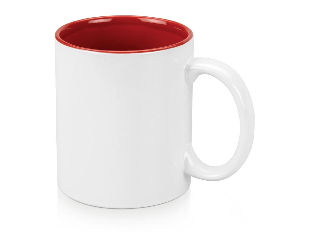 Кружка Gain 320мл, белый/красный