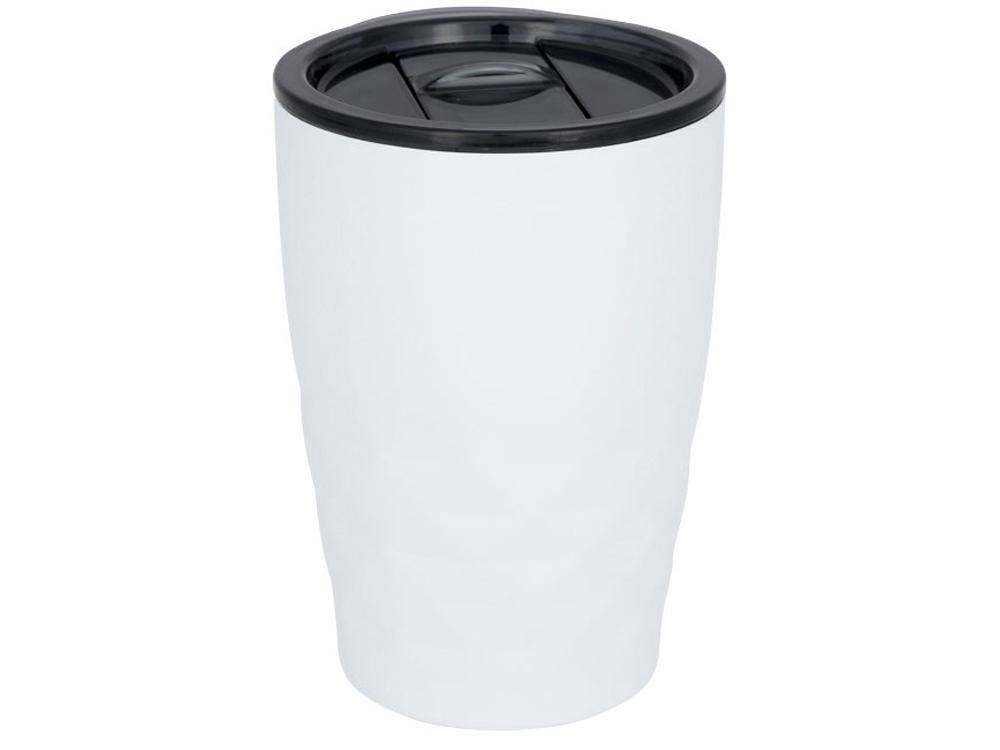 Кружка Geo с вакуумной изоляцией, белый/черный