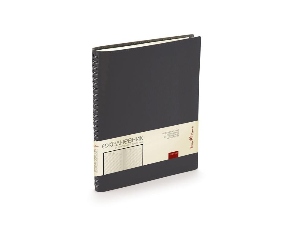 Ежедневник недатированный B5 Tintoretto New, черный