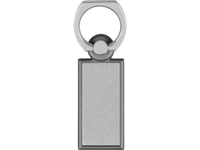 Набор «Slip»: визитница, держатель для телефона, серый/серебристый