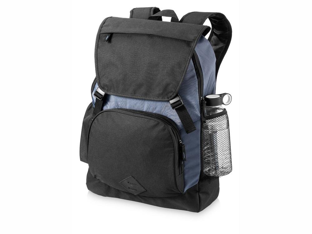 Рюкзак Wellington для ноутбука 17, черный/серый