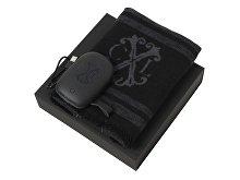 Подарочный набор Id: шарф шелковый, портативное зарядное устройство 7800 mAh (арт. LPEB926J)