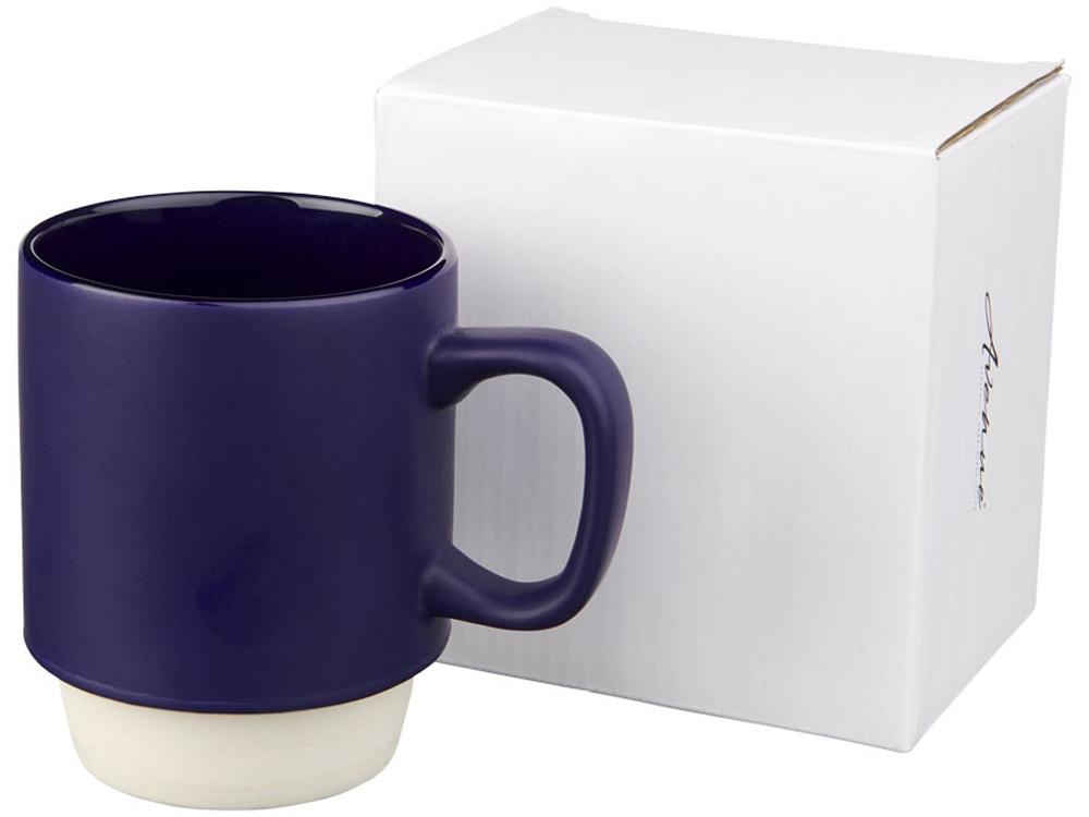 Керамическая кружка Arthur, 420мл, синий