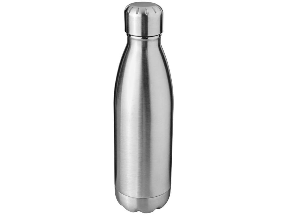 Бутылка Arsenal 510мл с вакуумной изоляцией, серебристый