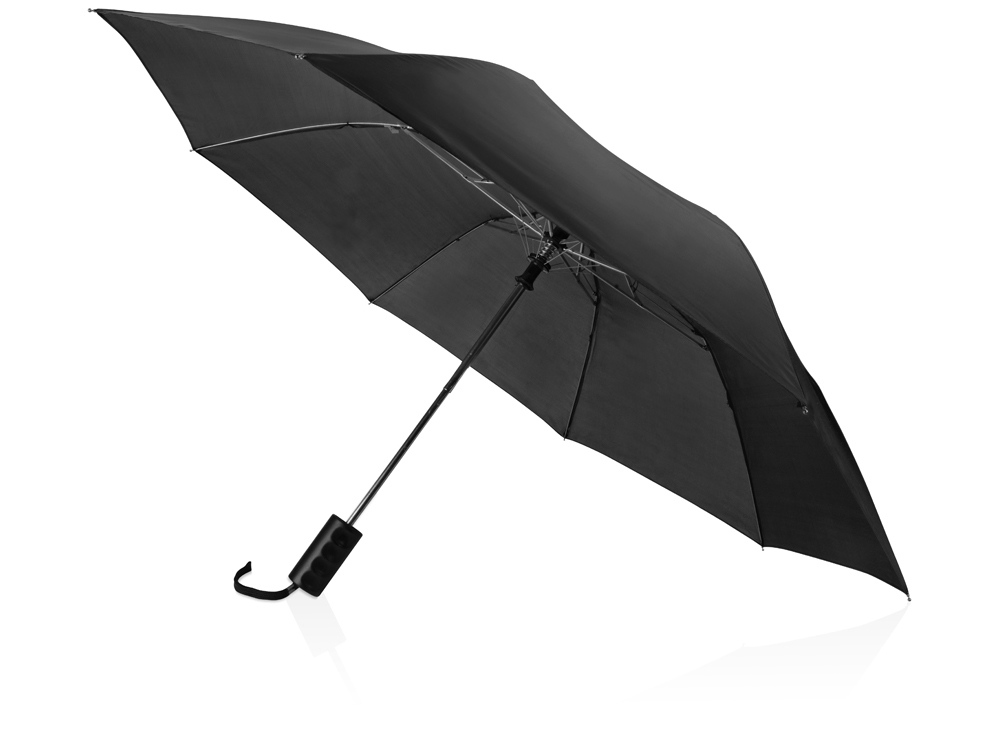Зонт складной Андрия, черный