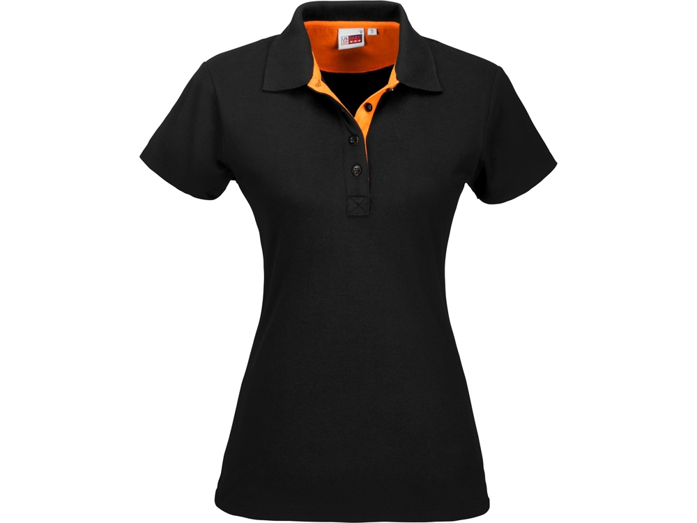 Рубашка поло Solo женская, оранжевый