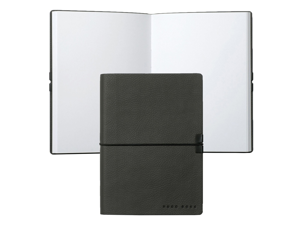Блокнот А6 Storyline. Hugo Boss, темно-серый