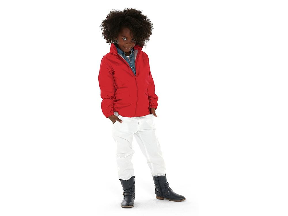 Ветровка Miami детская с чехлом, красный