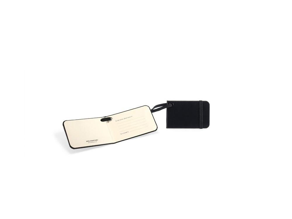 Ярлык для багажа Moleskine Luggage Tag, черный