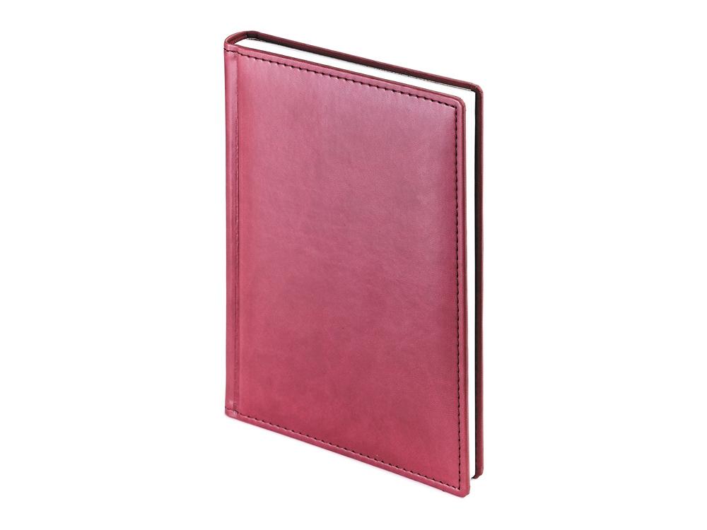 Ежедневник недатированный А4 Velvet, бордовый