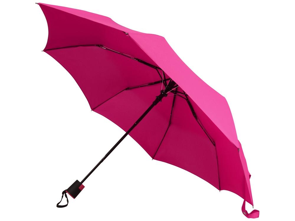 Зонт Wali полуавтомат 21, фуксия (Р)