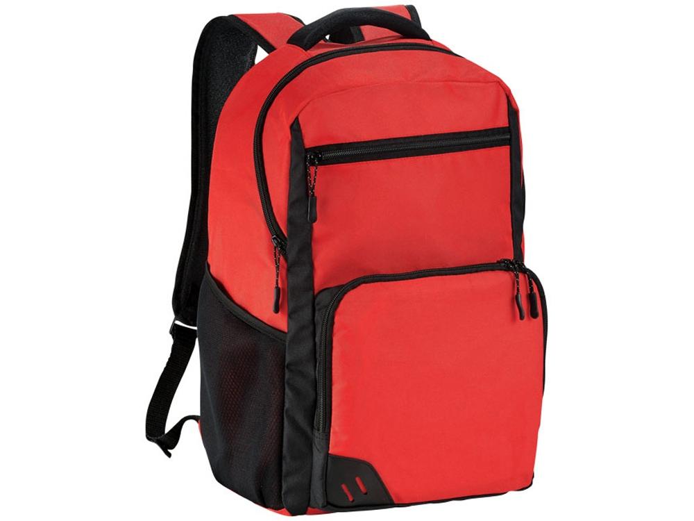 Рюкзак Rush для ноутбука 15,6 без ПВХ, красный/черный