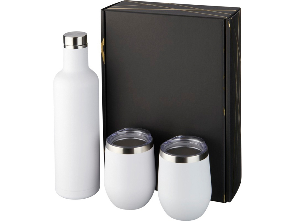 Подарочный набор из медных предметов с вакуумной изоляцией Pinto и Corzo, белый