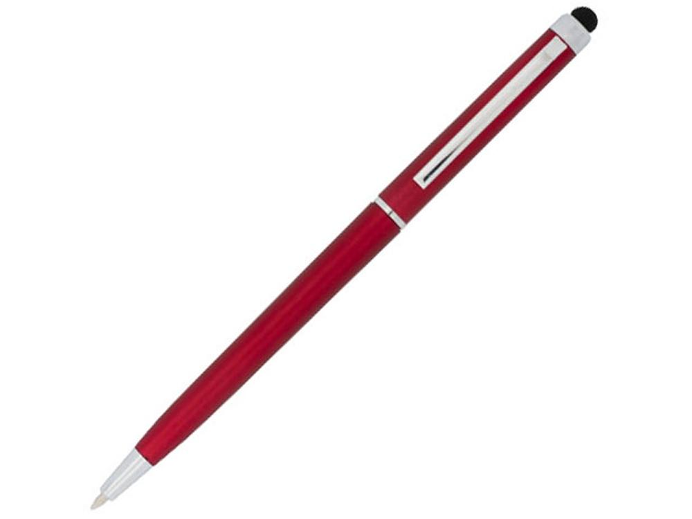 Ручка пластиковая шариковая Valeria, красный