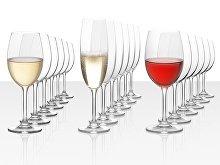 Подарочный набор бокалов для красного, белого и игристого вина «Celebration», 18 шт (арт. 900006)