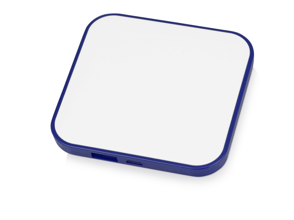 Портативное зарядное устройство (power bank) Квадрум, 2600 mAh, синий