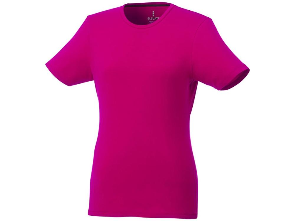 Женская футболка Balfour с коротким рукавом из органического материала, розовый