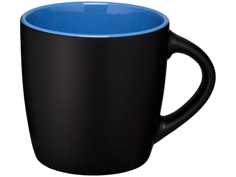 Керамическая чашка Riviera, черный/синий