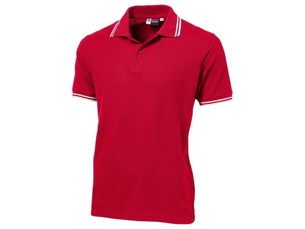 Рубашка поло Erie мужская, красный